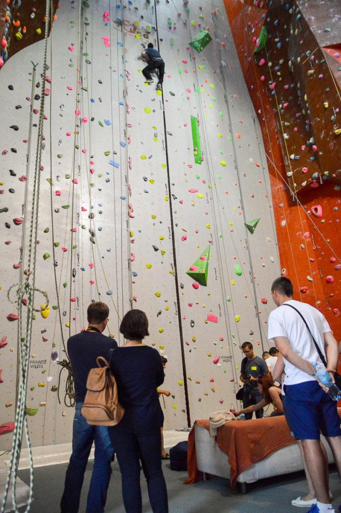Ścianka wspinaczkowa w CW Grota w Radomiu