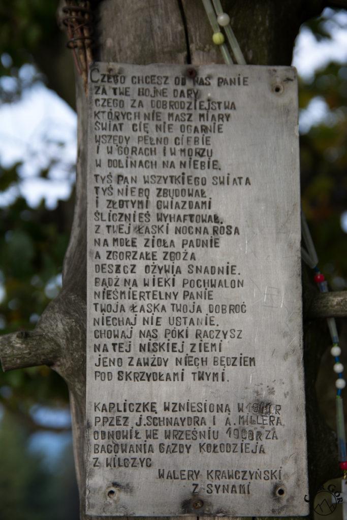 Kapliczka Milenijna na Ćwilinie