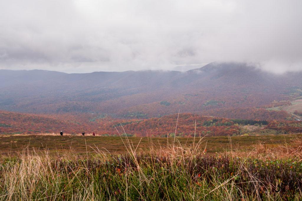 Kolorowa bieszczadzka jesień