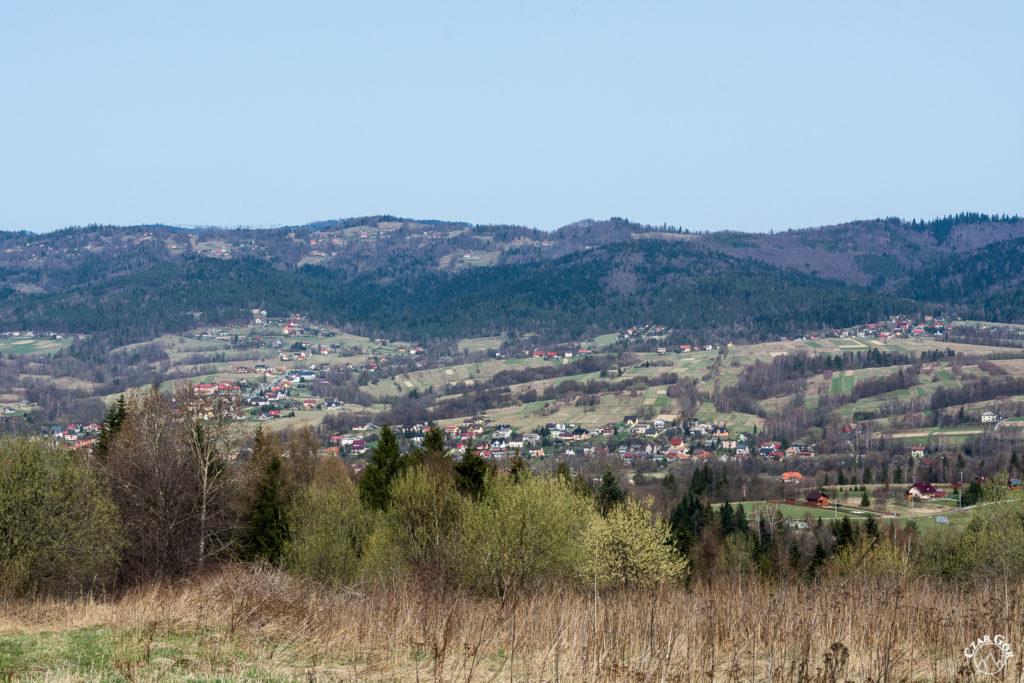 Urocze wioski ulokowane w Beskidzie Małym