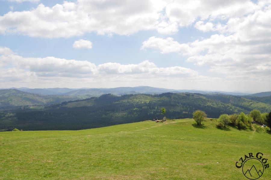 Południowa panorama z Ochodzitej