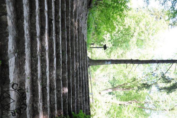 Droga z parku zdrojowego na zamek