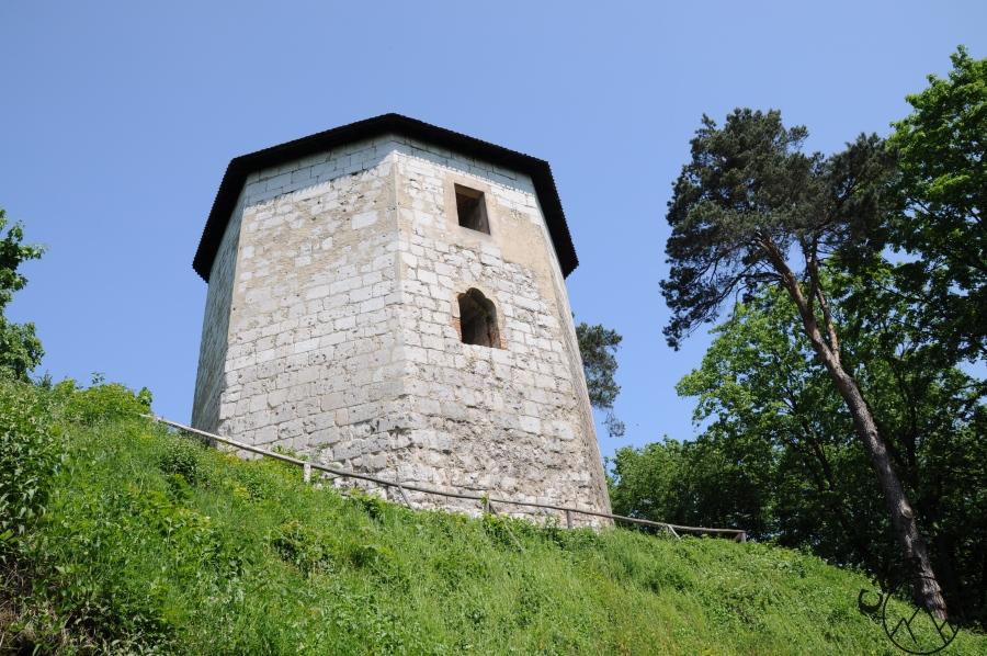 Wieża zamkowa w Ojcowie