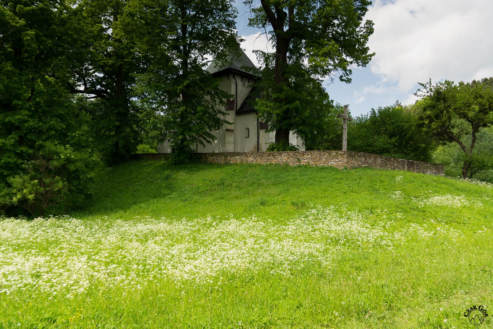 Najstarsza w Polsce cerkiew obronna XIV/XVI w. Posada Rybotocka