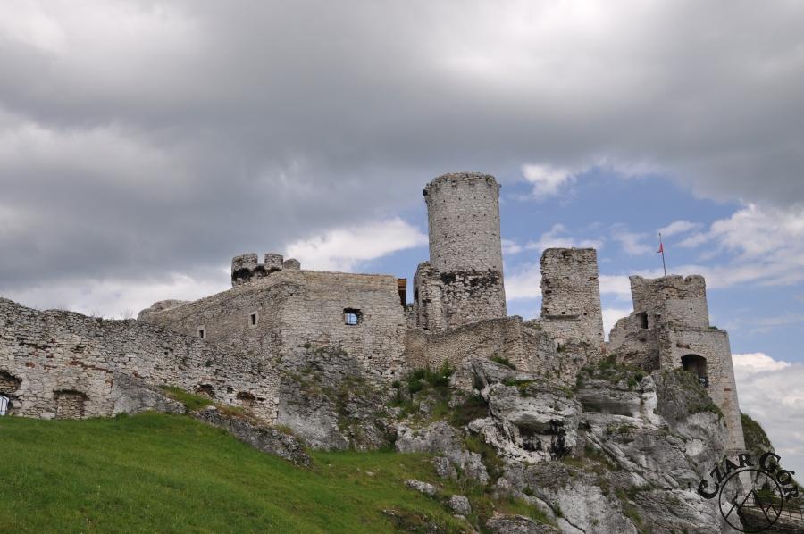 Ruiny Zamku w Ogrodzieńcu. Jak z widokówki