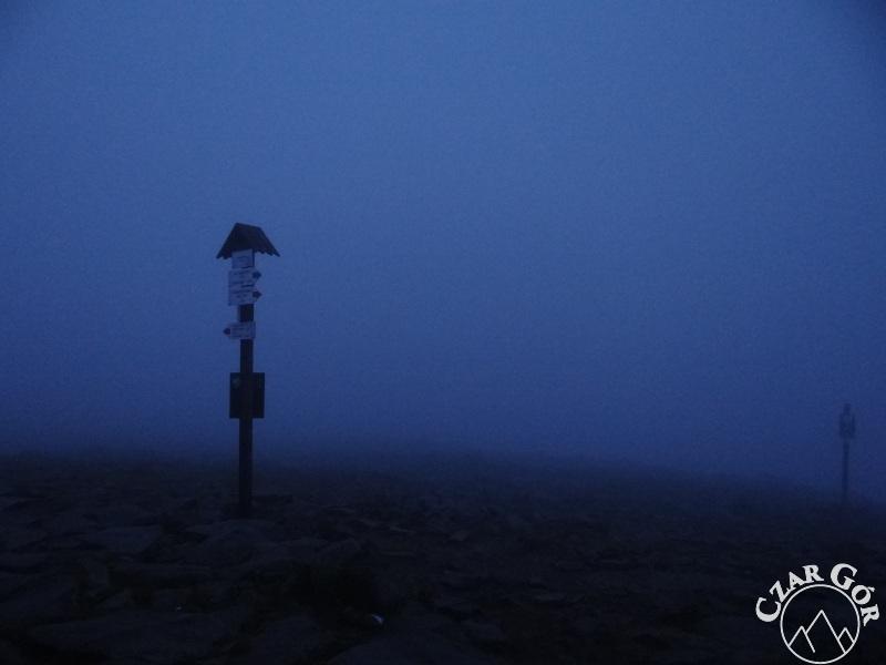 Babia Góra zdobyta przed wschodem słońca