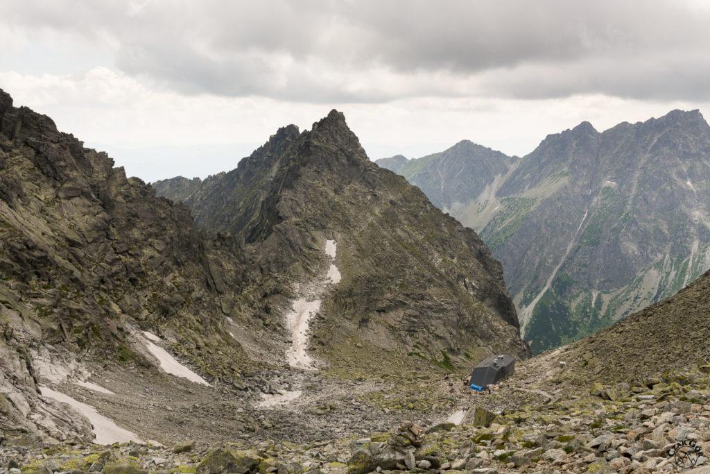 Najwyżej położone schronisko w Tatrach - Chata pod Rysami