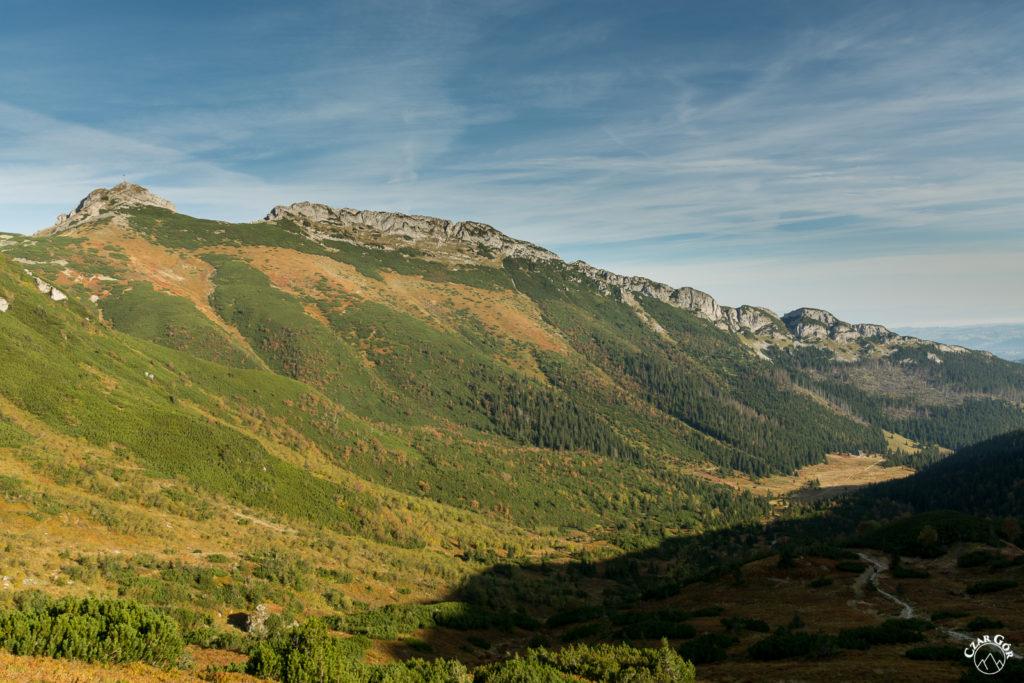 Na podejściu na Przełęcz Pod Kopą Kondracką