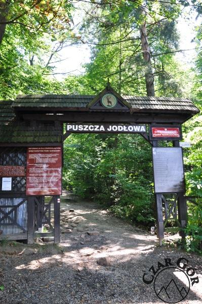 Brama Świętokrzyskiego Parku Narodowego