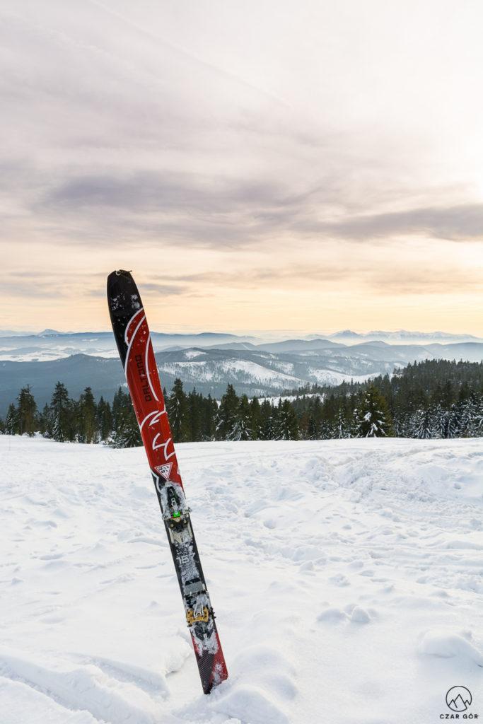 Rysianka na skiturach