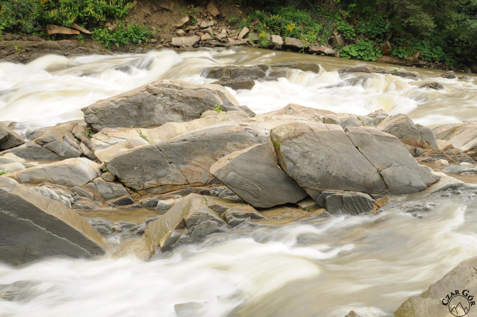 Wetlina. Rezerwat przyrody Sine Wiry
