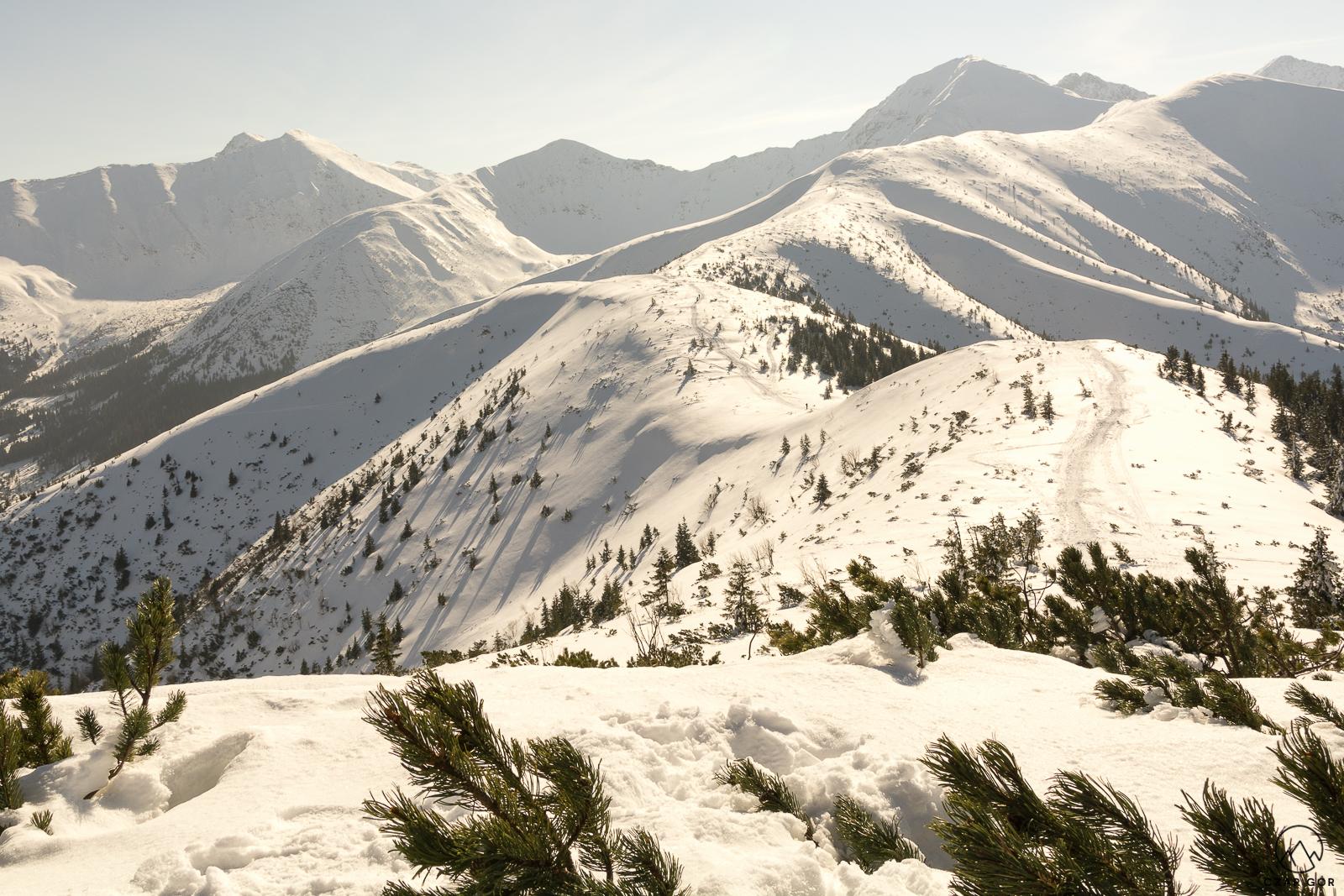 Klasyk Tatr Zachodnich zimową porą