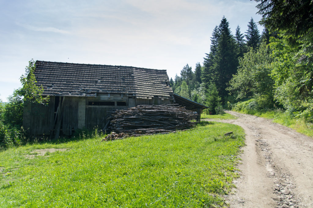 Klimatyczna stara chata