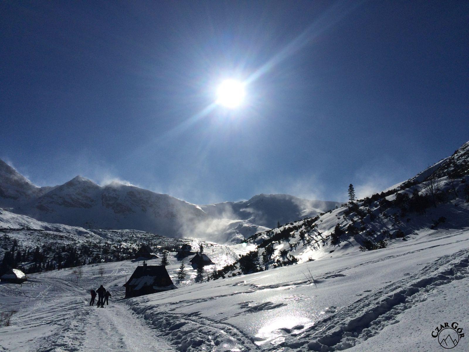 Wycieczka skitourowa pod Przełęcz Karb