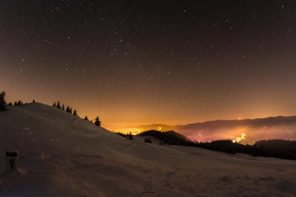 Noc w okolicach Wysokiego Wierchu