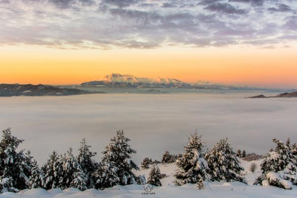 Tatry zimą w Wysokiego Wierchu