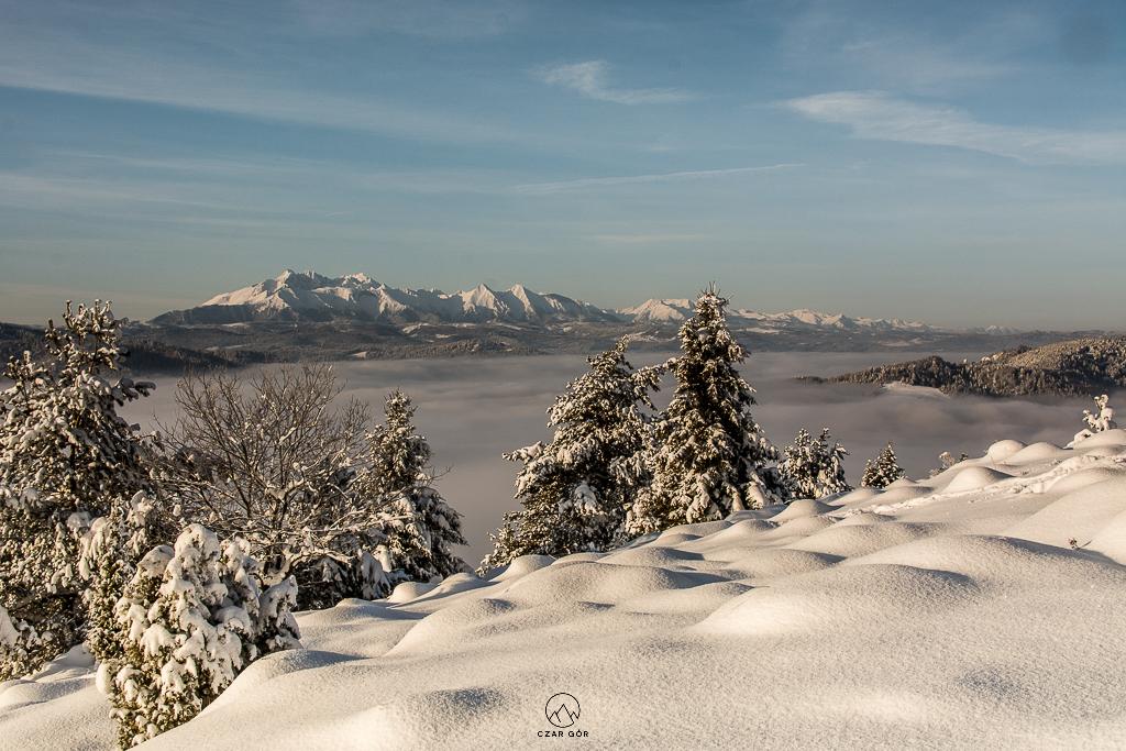 Tatry zimą prezentują się magicznie