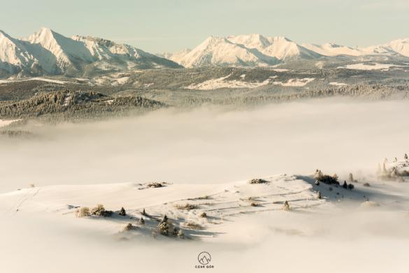 W stronę tatrzańskich szczytów