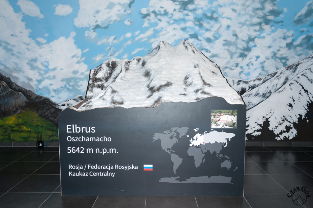 Makieta Elbrus