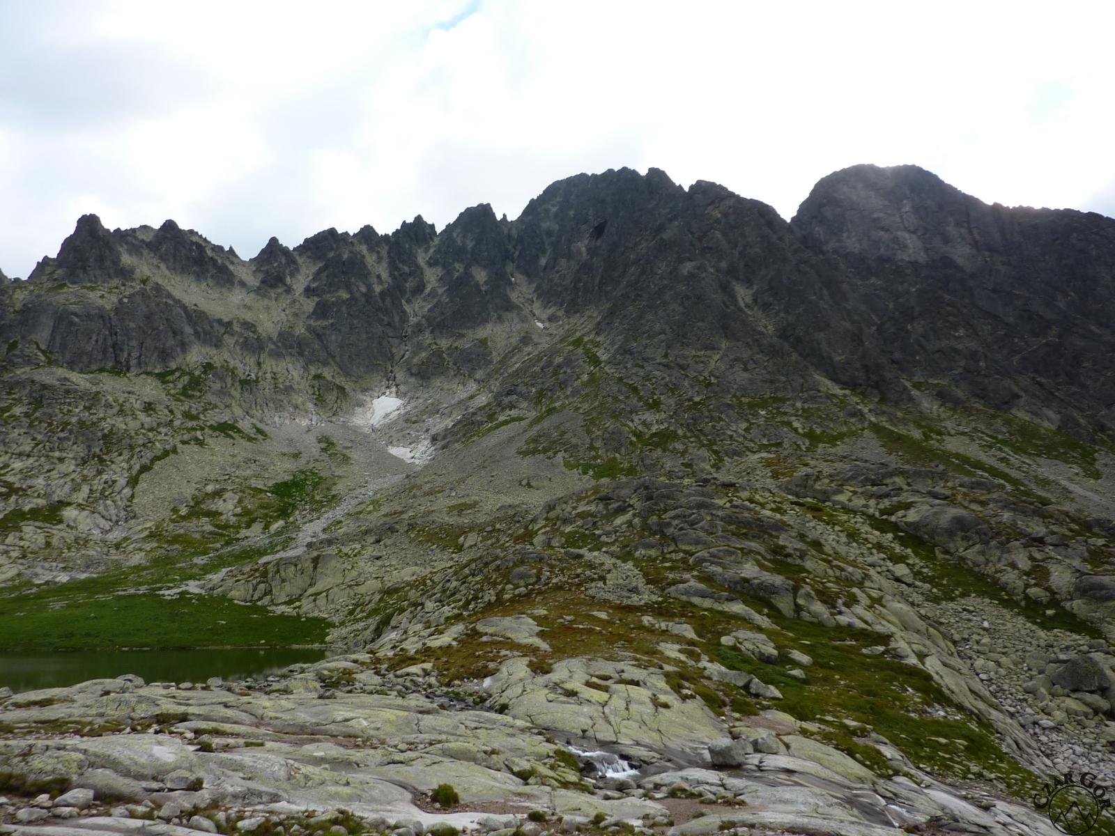 W stronę Durnego Szczytu (celu wycieczki) i Łomnicy