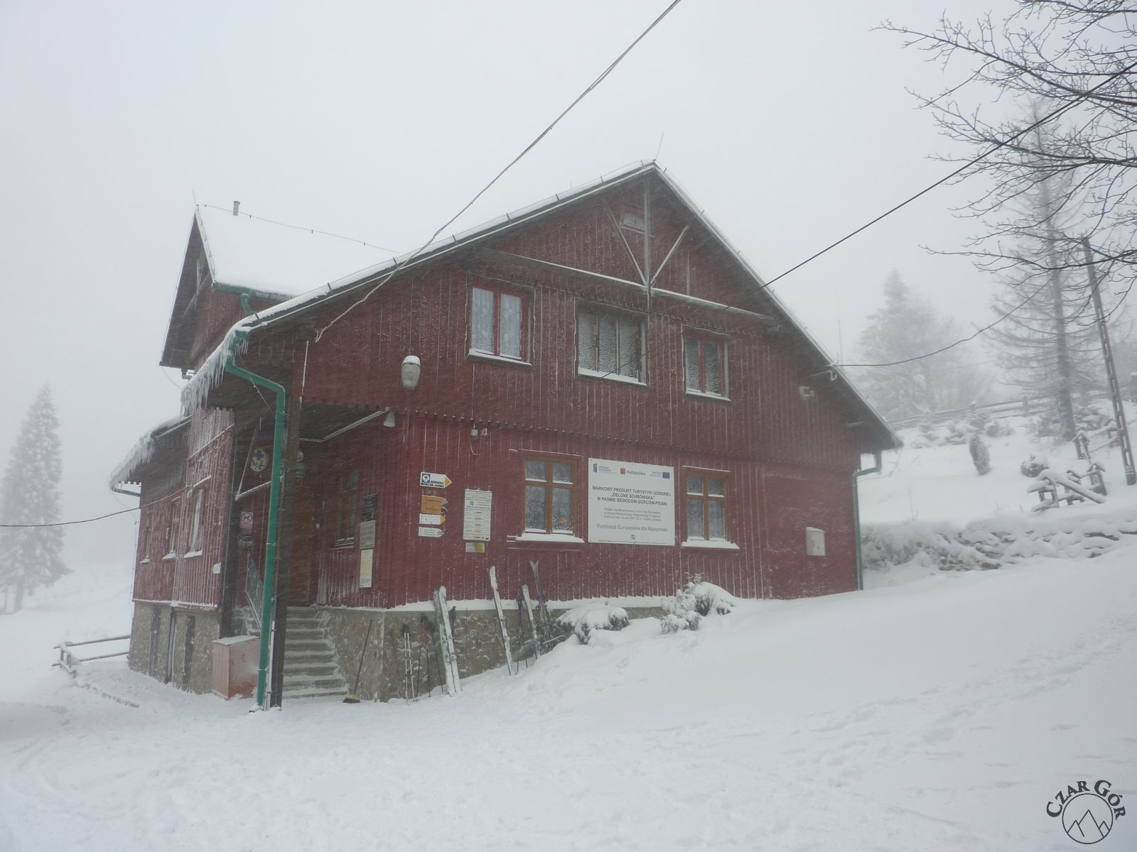 Schronisko PTTK na Leskowcu