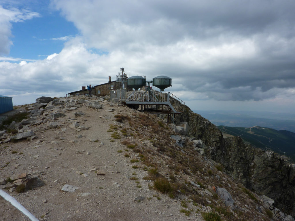 Stacja meteo na szczycie Musały