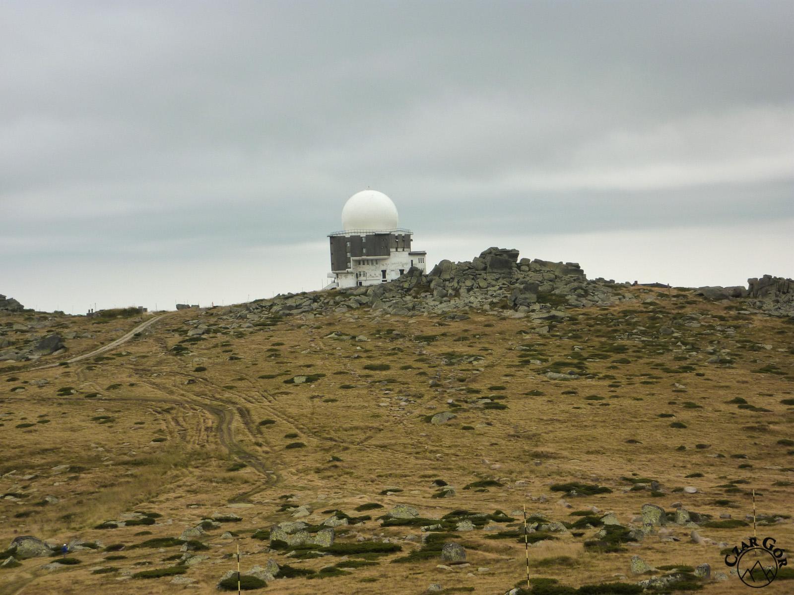 Stacja meteorologiczna zlokalizowana na Czarnym Wierchu