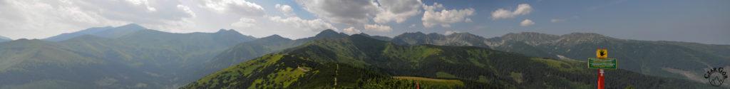 Panorama z Grzesia