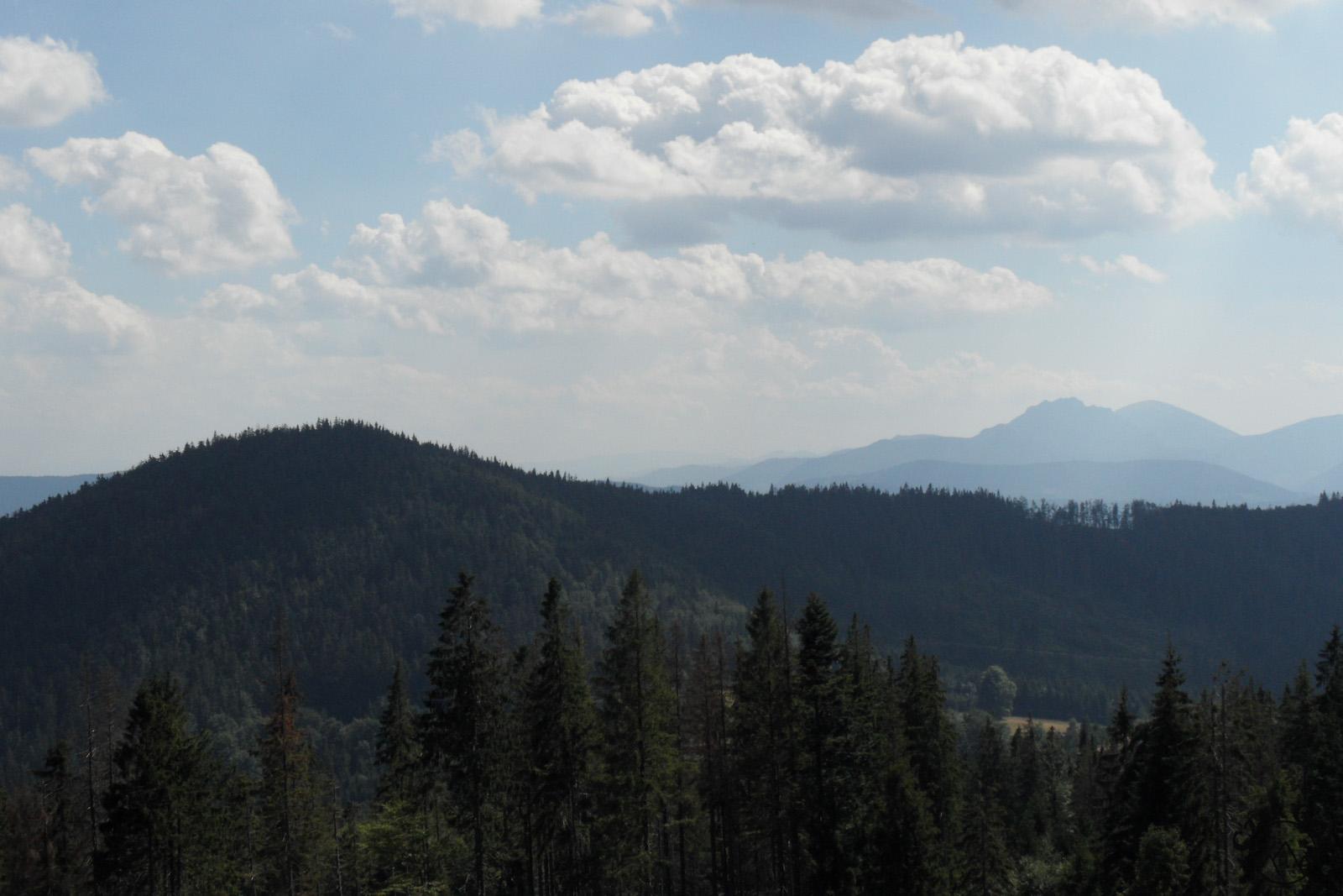 Panorama z Bendoszki