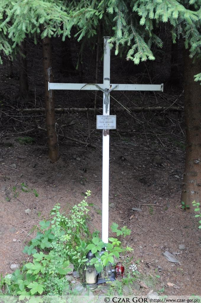 Pamięci tragicznie zmarłego pilota na górze Żar - Piotra Okrzesik