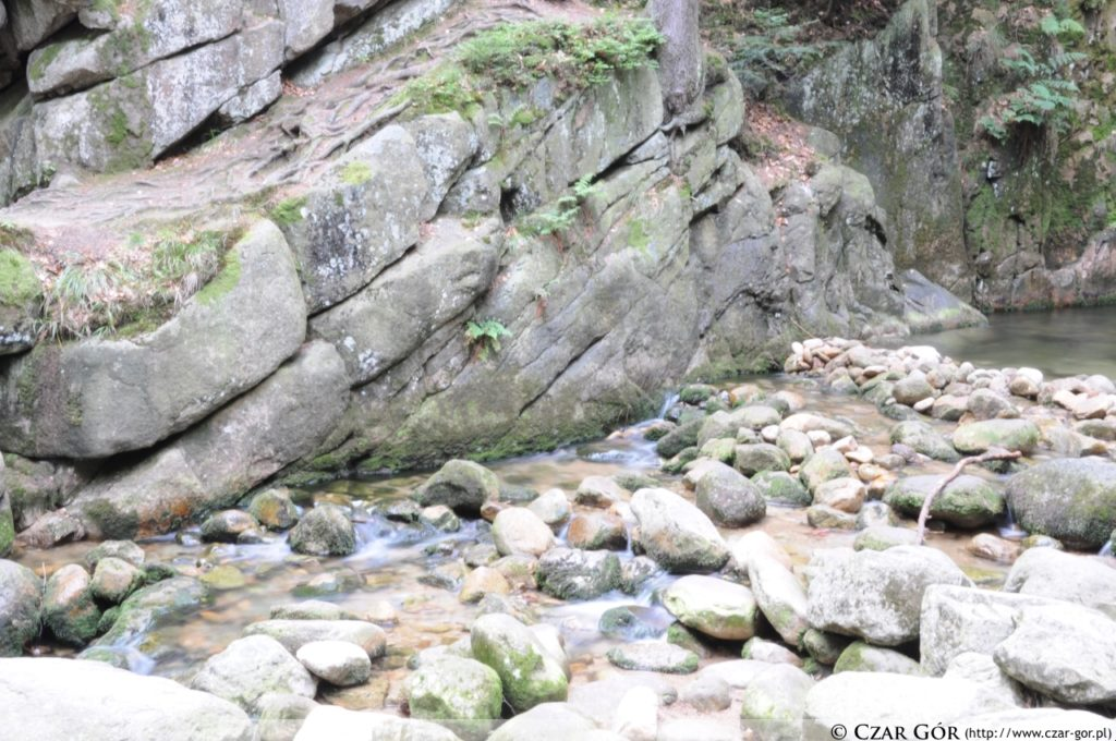 Wodospad Podgórnej w Przesiece