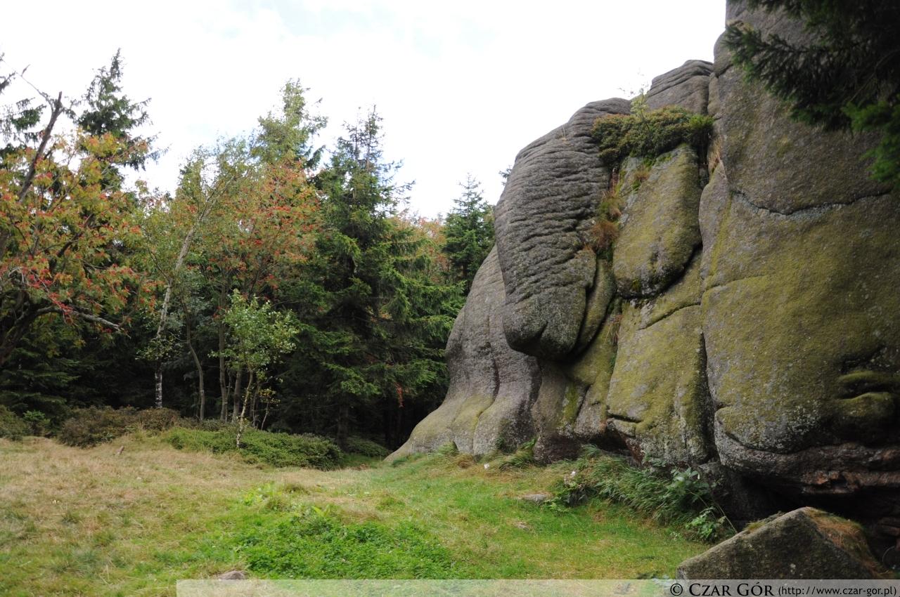 Formacje skalne pod Skalnikiem