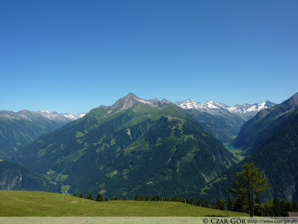 W drodze na szczyt. W stronę Ahornspitze (2973 m n.p.m.).