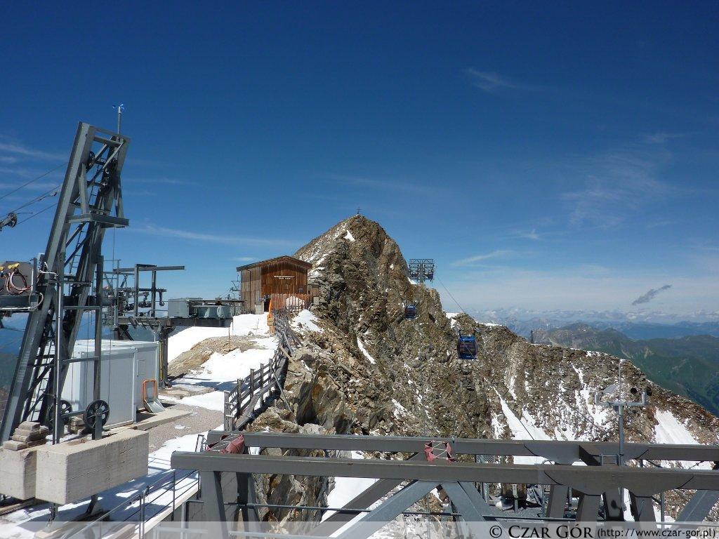 W stronę wyższego wierzchołka Gefrorene-Wand-Spitzen (3288 m n.p.m.)