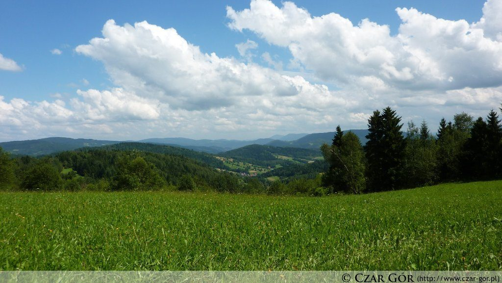 W stronę doliny Bogdanówka
