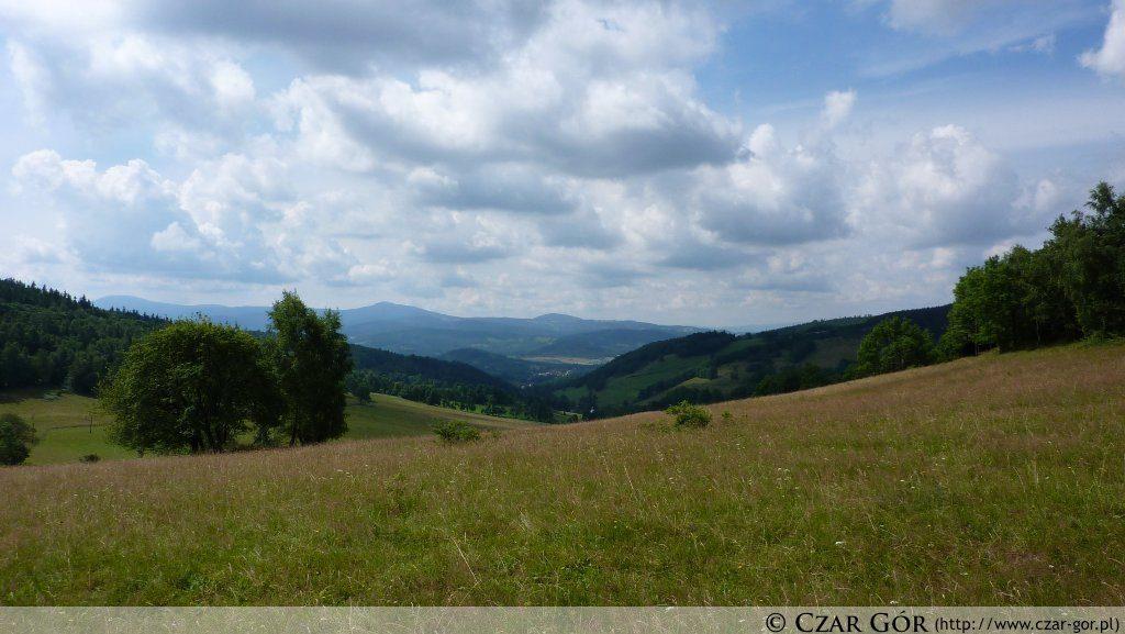 Przełęcz Lądecka - w stronę Czarnej Góry