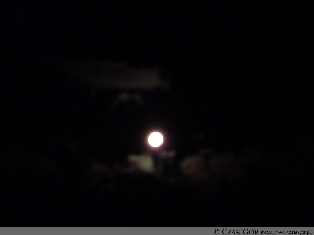 Piękna, księżycowa noc - początek wycieczki