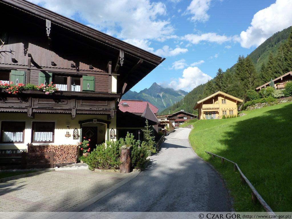W dolinie. Mayrhofen