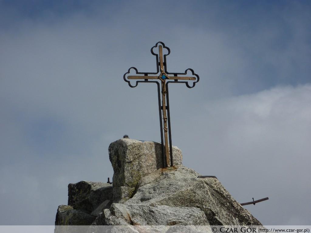 Gerlach - krzyż na szczycie