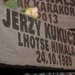 Odsłonięcie pomnika Alpinistów Klubu Wysokogórskiego w Katowicach, którzy w górach zostali na zawsze