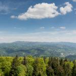 Z widokiem na Tatry z Beskidu Śląskiego. Główny Szlak Beskidzki – pierwsze starcie