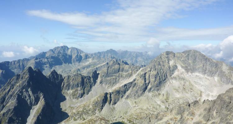Weekend w Tatrach. Drogą Jordana na Łomnicę