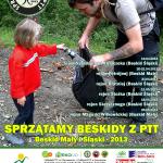 Sprzątamy Beskidy z PTT 2013