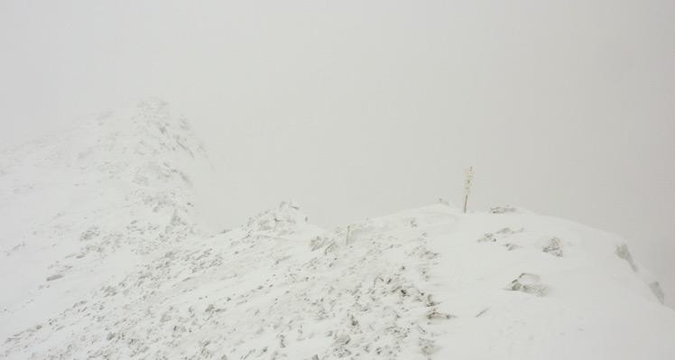 Zimowe wejście na Świnicę
