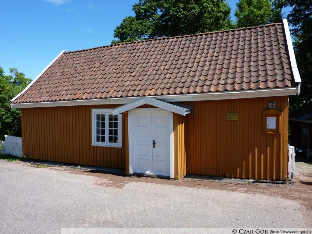 Dom Edwarda Muncha w norweskiej wiosce Åsgårdstrand