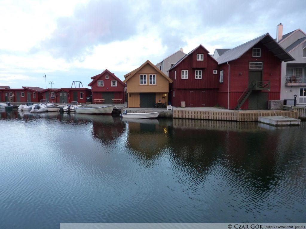 Domki na wybrzeżu Lindesnes