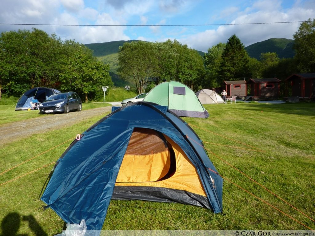 Nasz skromny namiot