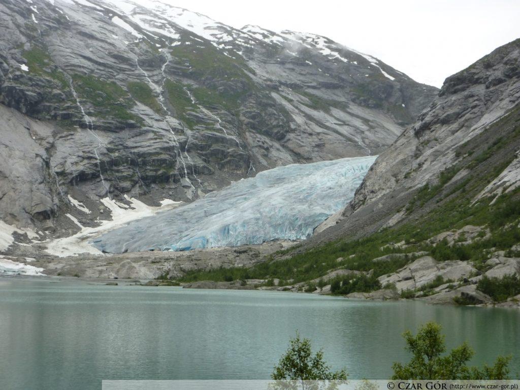 Nigardsbreen - lodowe ramie lodowca Jostedalsbreen