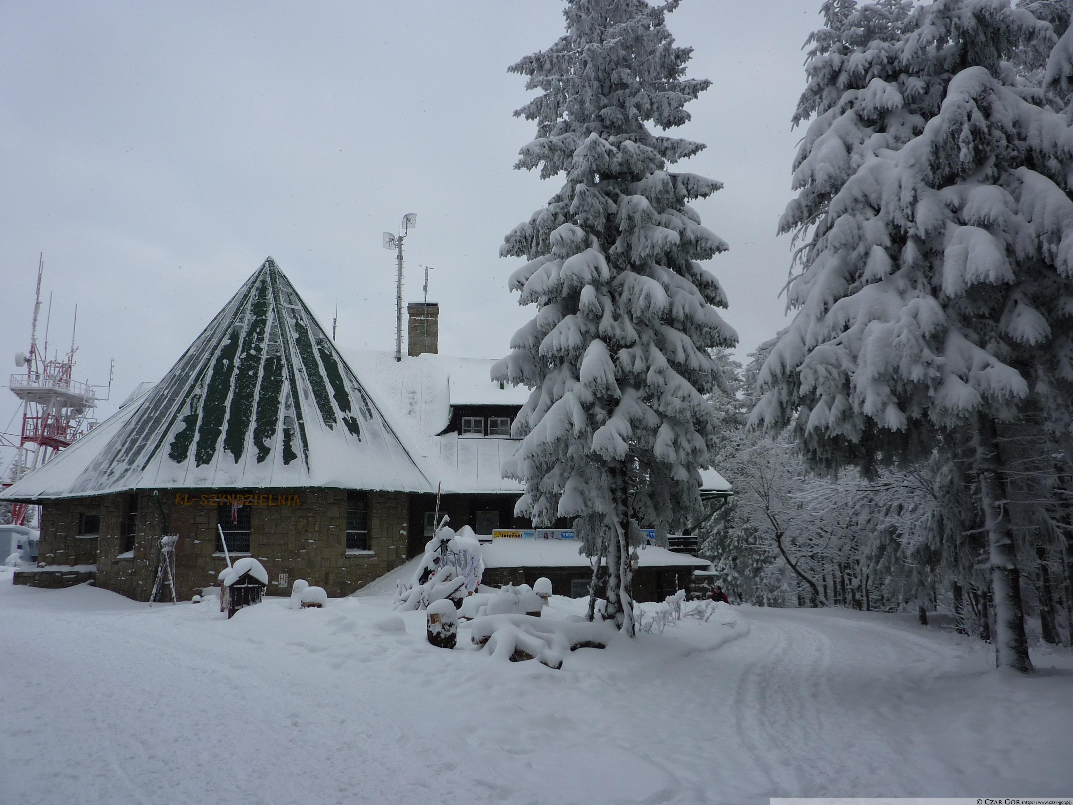 Górna stacja Kolei Linowej SZYNDZIELNIA